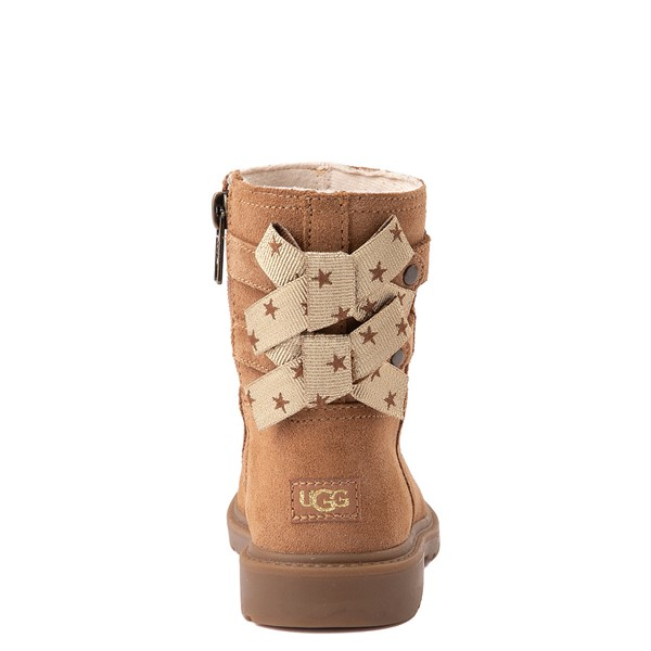 alternate view UGG® Tillee Boot - Toddler / Little Kid - ChestnutALT2B