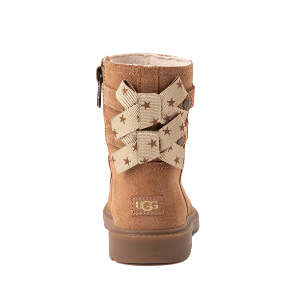 alternate view UGG® Tillee Boot - Toddler / Little Kid - ChestnutALT4