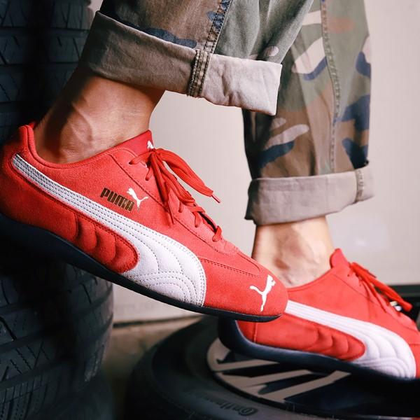 alternate view Mens Puma Speedcat Athletic Shoe - RedALT1B