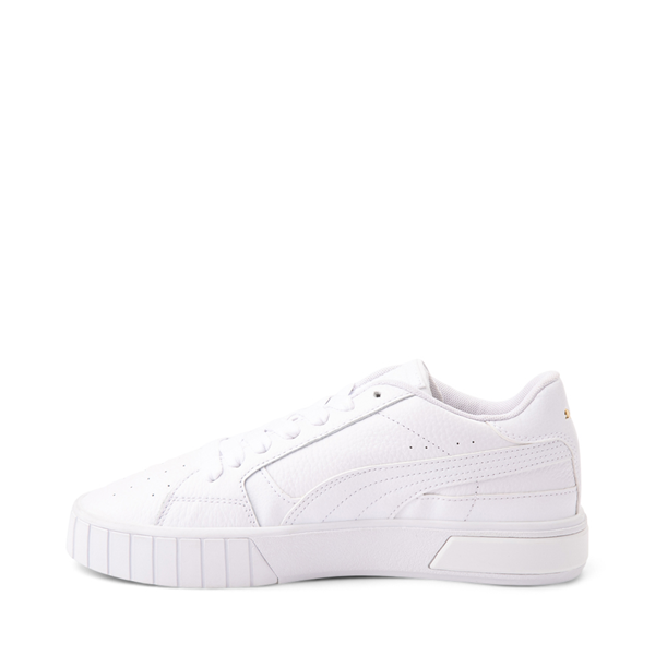 alternate view Womens Puma Cali Star Athletic Shoe - White / GoldALT1