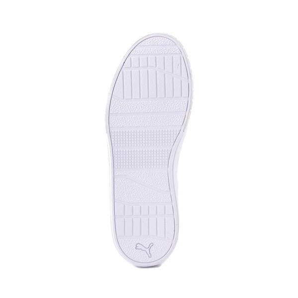 alternate view Womens Puma Cali Star Athletic Shoe - White / GoldALT3