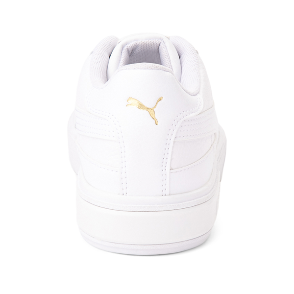 alternate view Womens Puma Cali Star Athletic Shoe - White / GoldALT4