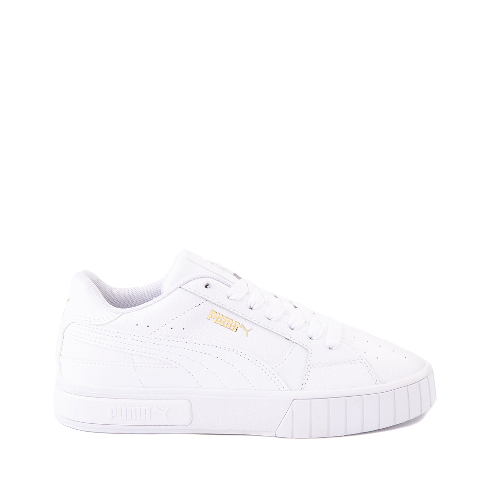 Womens Puma Cali Star Athletic Shoe - White / Gold