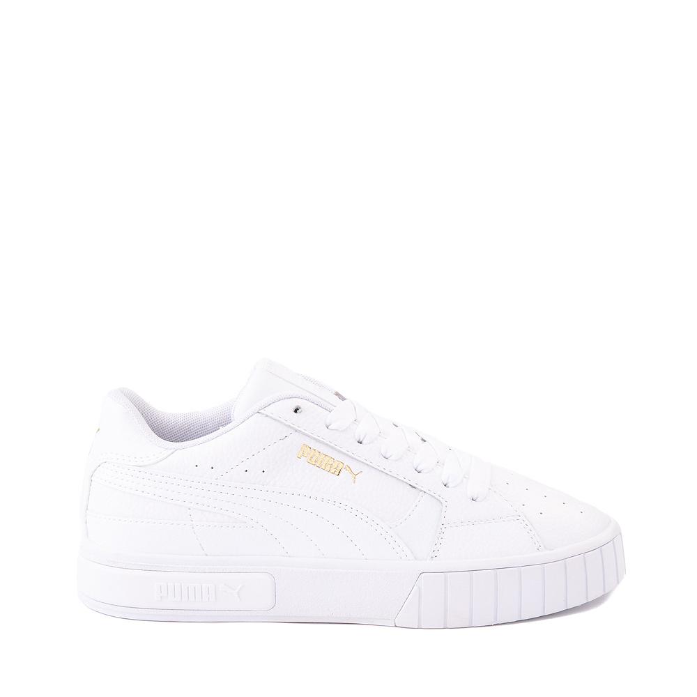 Womens Puma Cali Star Athletic Shoe - White / Gold