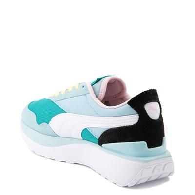 Alternate view of Womens Puma Cruise Rider Platform Athletic Shoe - Viridian Green / Aquamarine