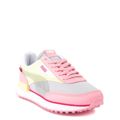 Alternate view of Puma Future Rider Fun On Athletic Shoe - Big Kid - Peony / High Rise