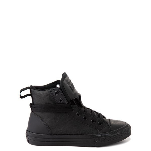 Converse Chuck Taylor All Star Hi Guard Sneaker - Little Kid - Black Monochrome