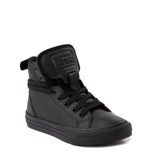 alternate view Converse Chuck Taylor All Star Hi Guard Sneaker - Little Kid - Black MonochromeALT1B
