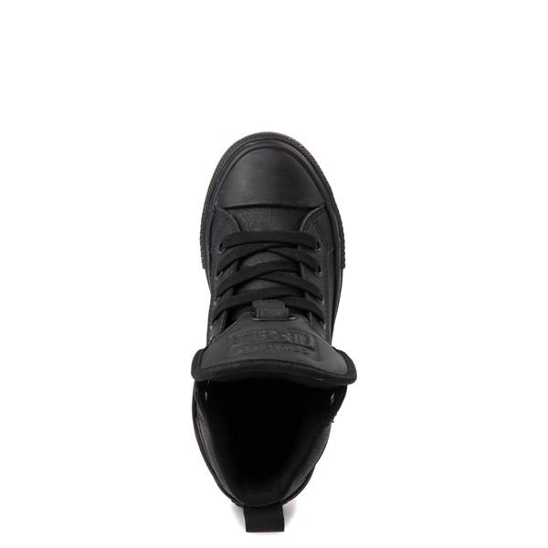 alternate view Converse Chuck Taylor All Star Hi Guard Sneaker - Little Kid - Black MonochromeALT4B