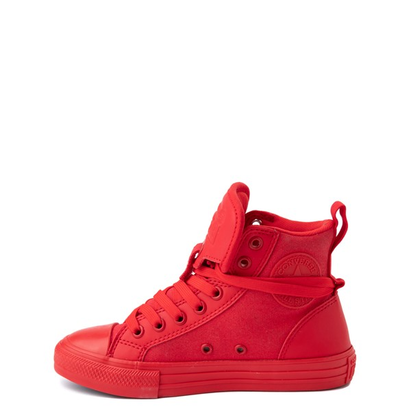 alternate view Converse Chuck Taylor All Star Hi Guard Sneaker - Little Kid - Red MonochromeALT1