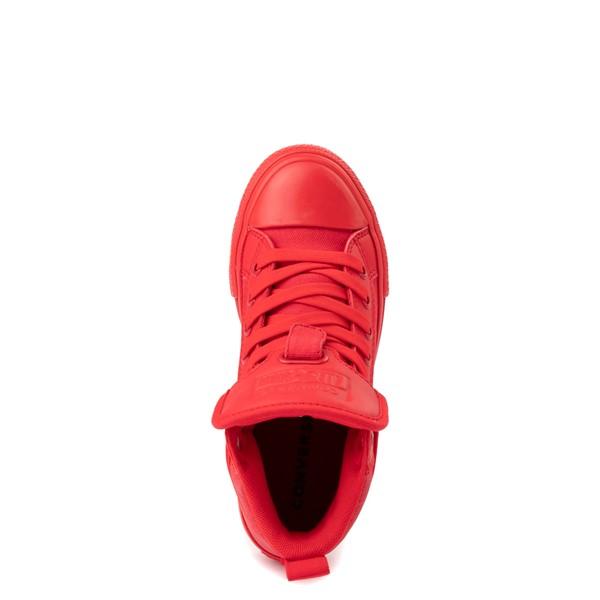 alternate view Converse Chuck Taylor All Star Hi Guard Sneaker - Little Kid - Red MonochromeALT2