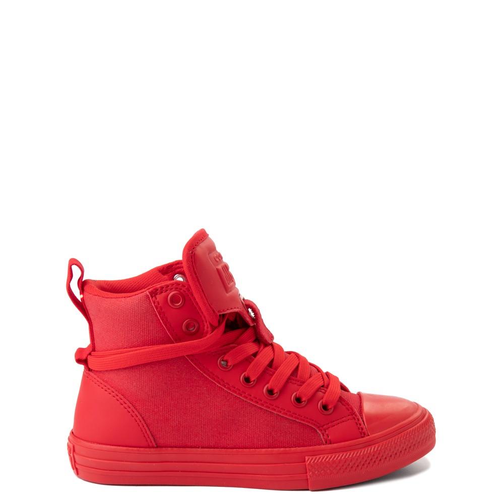Converse Chuck Taylor All Star Hi Guard Sneaker - Little Kid - Red Monochrome