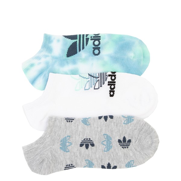 Womens adidas Clear Wash Low Cut Socks 3 Pack - Multicolor