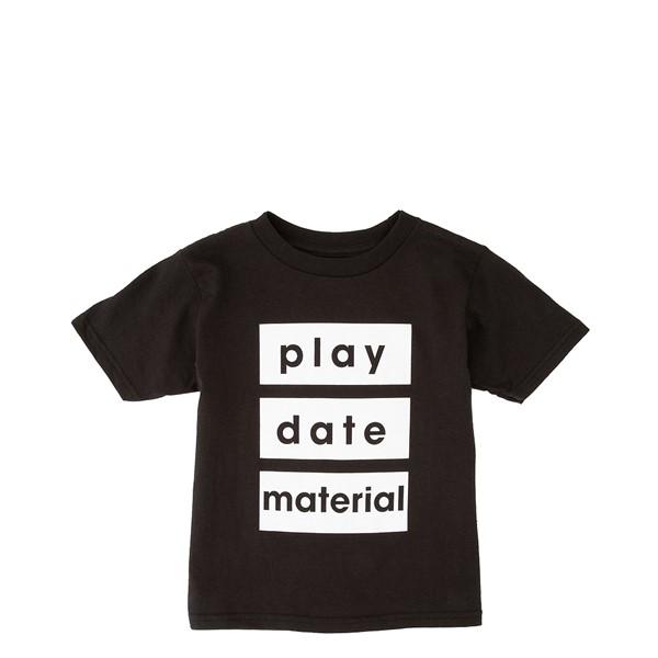 Main view of Playdate Material Tee - Toddler - Black