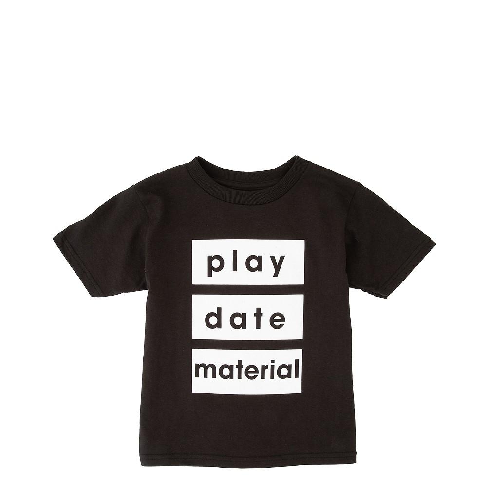 Playdate Material Tee - Toddler - Black
