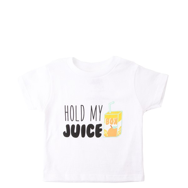 Hold My Juice Box Tee - Toddler - White