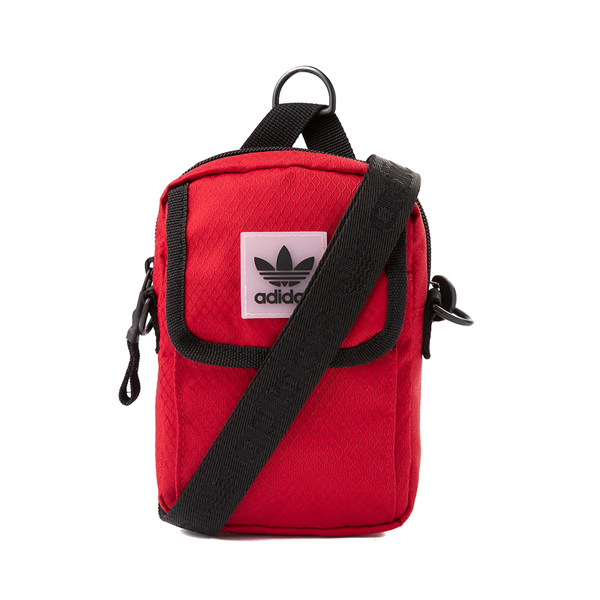 Main view of adidas Utility Festival Crossbody Bag - Red