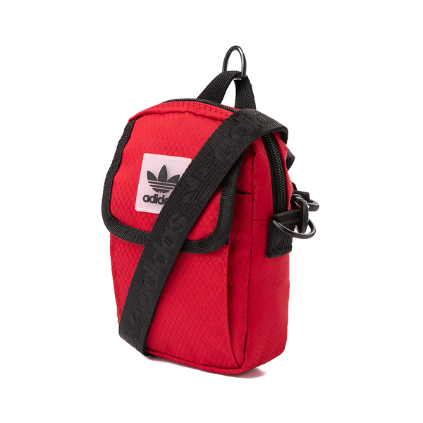 alternate view adidas Utility Festival Crossbody Bag - RedALT3