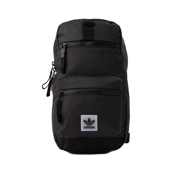 Main view of adidas Originals Utility Sling Bag - Black