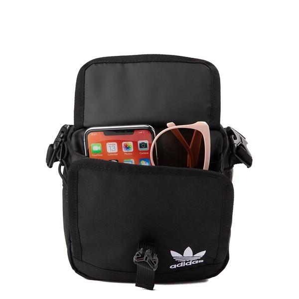 alternate view adidas Originals Large Festival Crossbody Bag - BlackALT1
