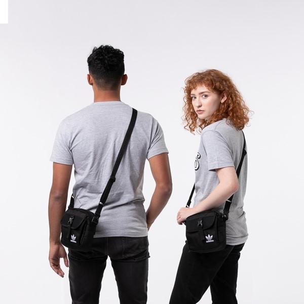 alternate view adidas Originals Large Festival Crossbody Bag - BlackALT1BADULT