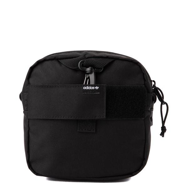 alternate view adidas Originals Large Festival Crossbody Bag - BlackALT2