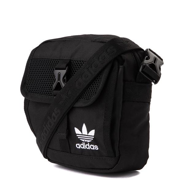 alternate view adidas Originals Large Festival Crossbody Bag - BlackALT4