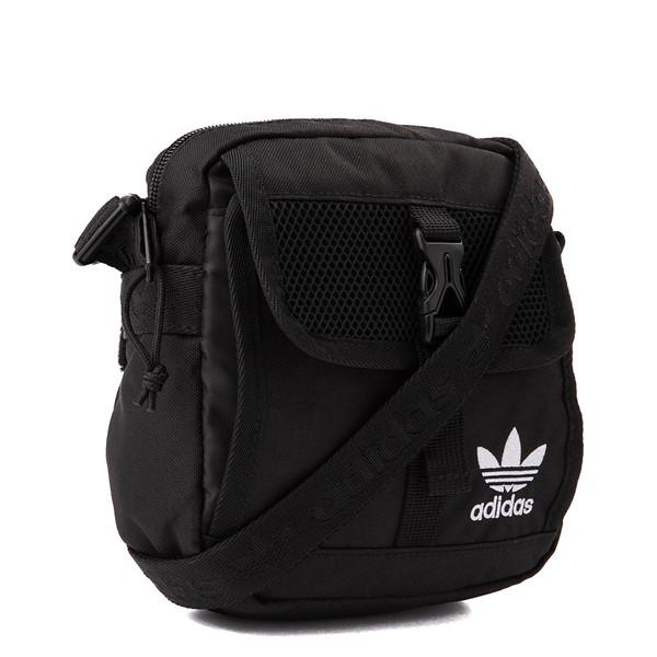 alternate view adidas Originals Large Festival Crossbody Bag - BlackALT4B