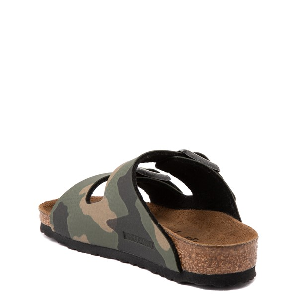 alternate view Birkenstock Arizona Sandal - Little Kid - Desert Soil Khaki CamoALT1
