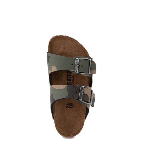 alternate view Birkenstock Arizona Sandal - Little Kid - Desert Soil Khaki CamoALT2