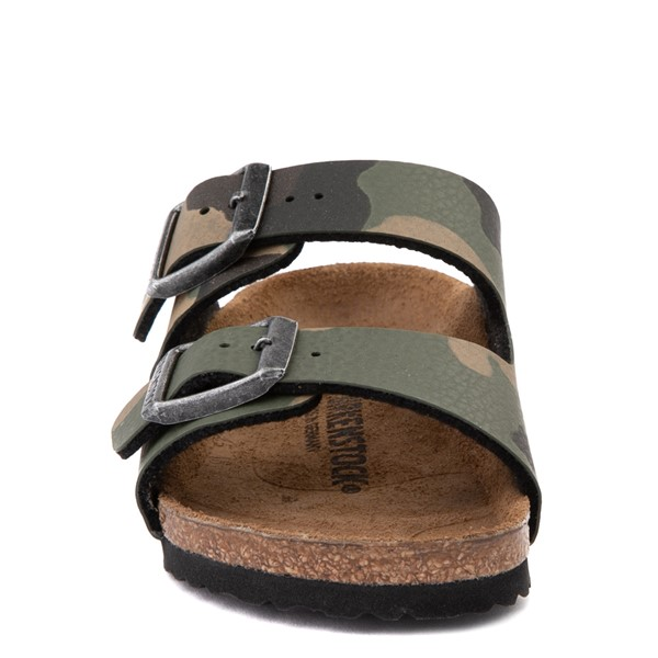 alternate view Birkenstock Arizona Sandal - Little Kid - Desert Soil Khaki CamoALT4