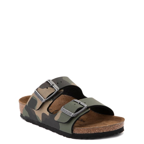 alternate view Birkenstock Arizona Sandal - Little Kid - Desert Soil Khaki CamoALT5