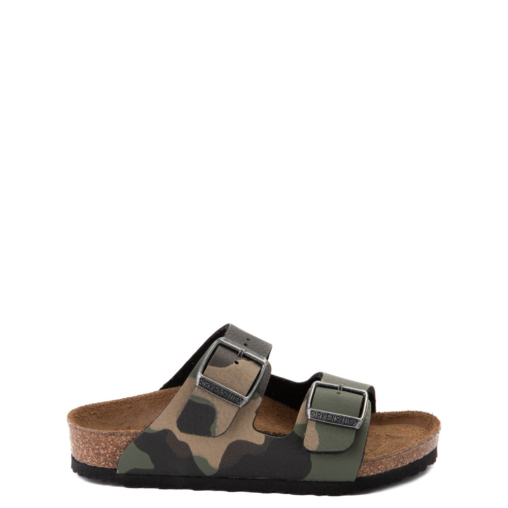 Birkenstock Arizona Sandal - Little Kid - Desert Soil Khaki Camo