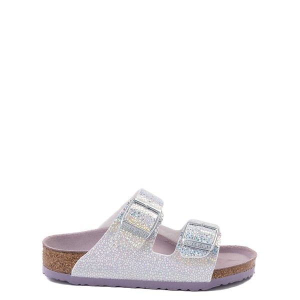 Birkenstock Arizona Sandal - Little Kid - Disco Ball Silver / Lavender