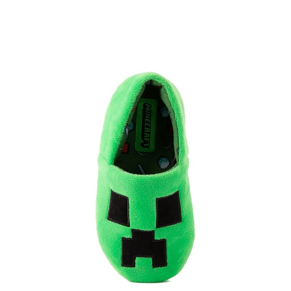 Main view of Minecraft Creeper Slipper - Toddler / Little Kid - Green