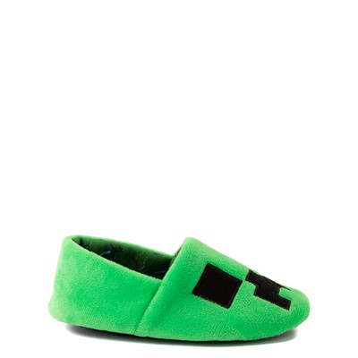 Alternate view of Minecraft Creeper Slipper - Toddler / Little Kid - Green