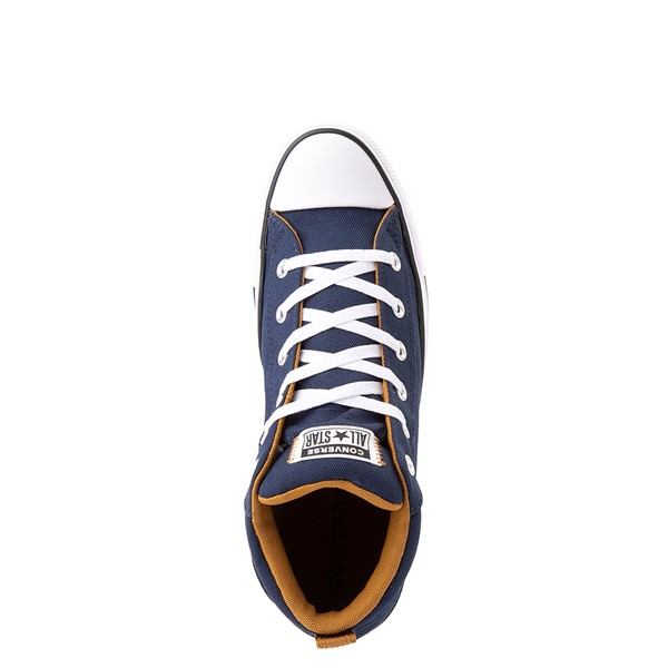 alternate view Converse Chuck Taylor All Star Street Mid Sneaker - Navy / Dark SobaALT4B