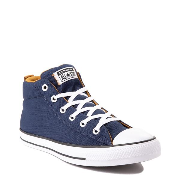 alternate view Converse Chuck Taylor All Star Street Mid Sneaker - Navy / Dark SobaALT5