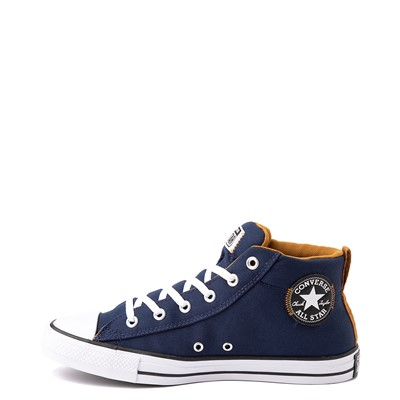 Alternate view of Converse Chuck Taylor All Star Street Mid Sneaker - Navy / Dark Soba