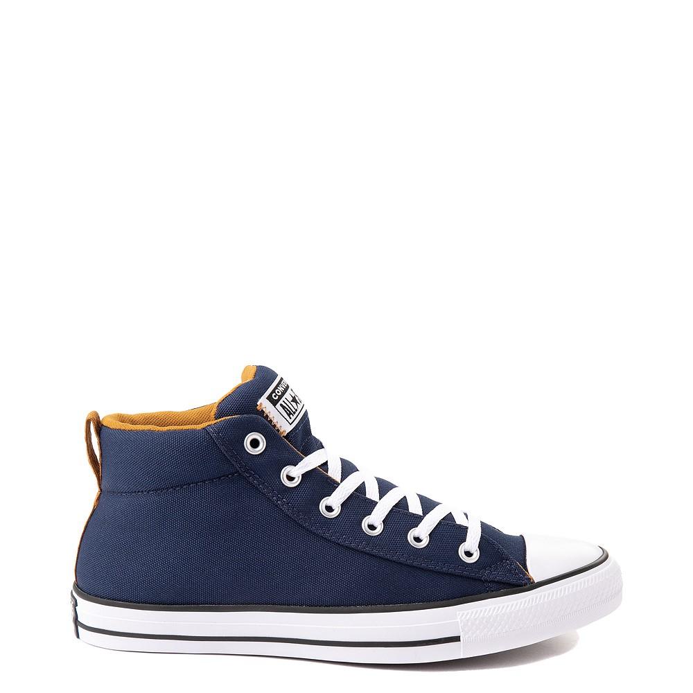 Converse Chuck Taylor All Star Street Mid Sneaker - Navy / Dark Soba