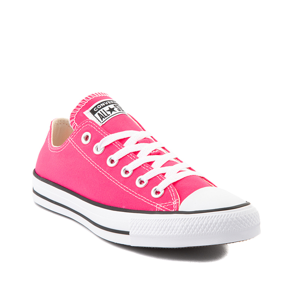 alternate view Converse Chuck Taylor All Star Lo Sneaker - Hyper PinkALT5