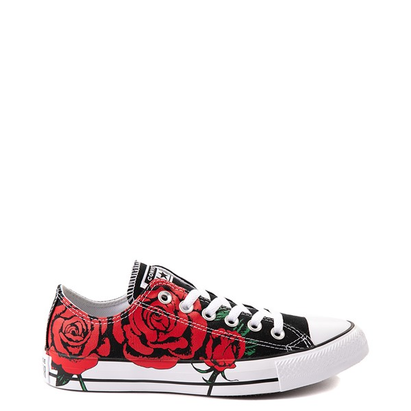 Main view of Converse Chuck Taylor All Star Lo Sneaker - Black / Roses