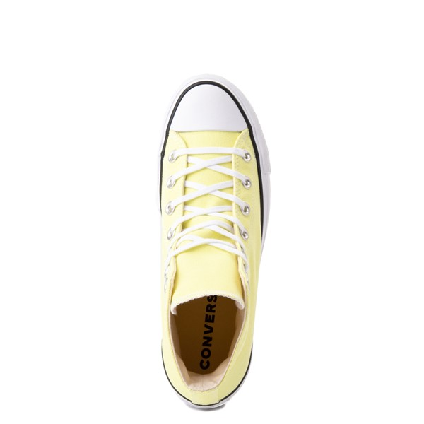 alternate view Womens Converse Chuck Taylor All Star Hi Platform Sneaker - Light ZitronALT2
