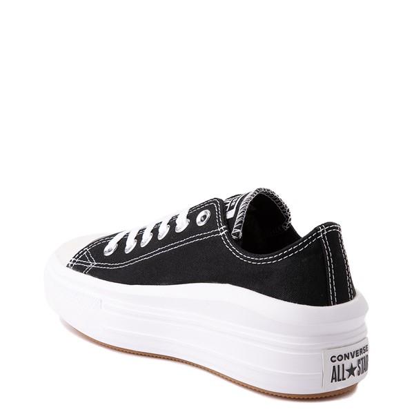 alternate view Womens Converse Chuck Taylor All Star Lo Move Platform Sneaker - BlackALT1