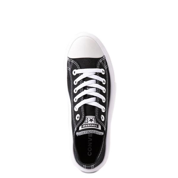 alternate view Womens Converse Chuck Taylor All Star Lo Move Platform Sneaker - BlackALT2