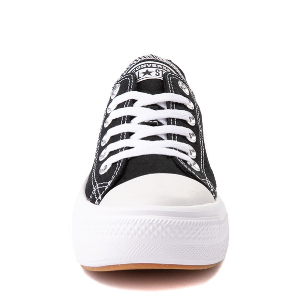 alternate view Womens Converse Chuck Taylor All Star Lo Move Platform Sneaker - BlackALT4