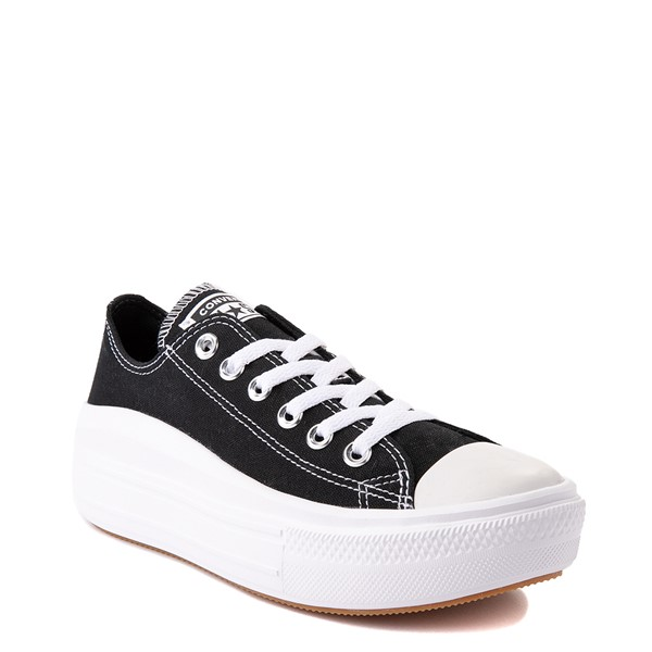 alternate view Womens Converse Chuck Taylor All Star Lo Move Platform Sneaker - BlackALT5