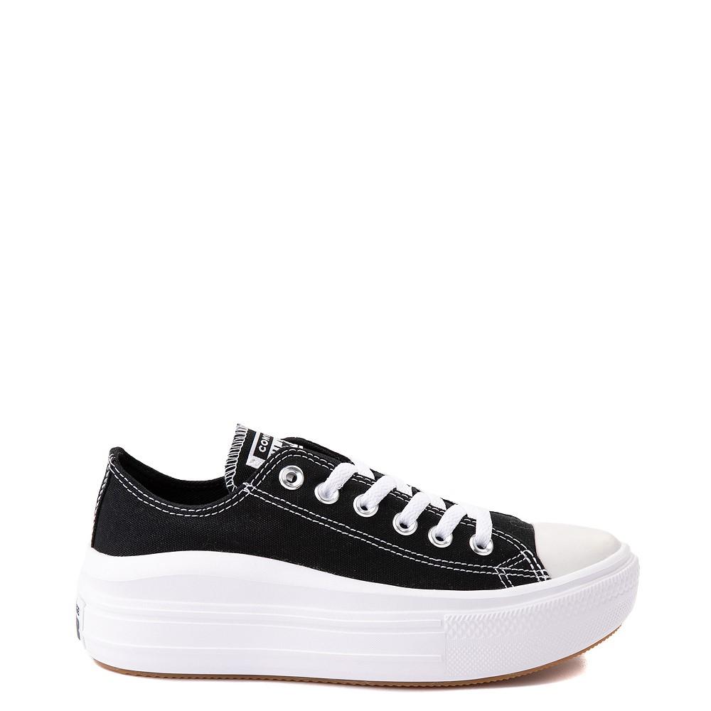 Womens Converse Chuck Taylor All Star Lo Move Platform Sneaker - Black