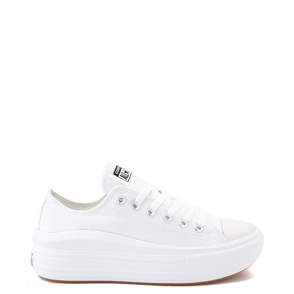 Womens Converse Chuck Taylor All Star Lo Move Platform Sneaker - White Monochrome