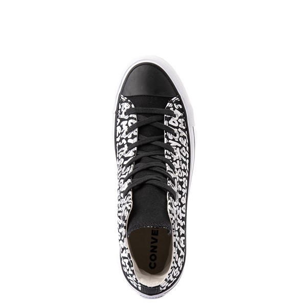 alternate view Womens Converse Chuck Taylor All Star Hi My Story Platform Sneaker - BlackALT2